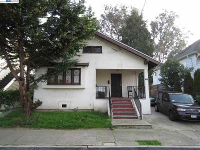 Oakland Single Family Home New: 1065 53rd Street