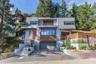 Berkeley Single Family Home For Sale: 1887 Tunnel Rd