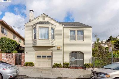 San Francisco Single Family Home For Sale: 210 Teddy Ave