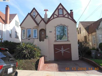 Oakland Single Family Home For Sale: 2920 75th Ave