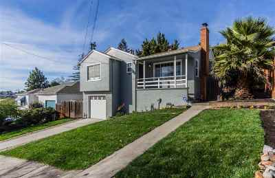 Rodeo Single Family Home Pending Show For Backups: 550 Vallejo