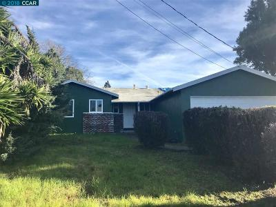 San Pablo Single Family Home For Sale: 2832 Sargent Ave