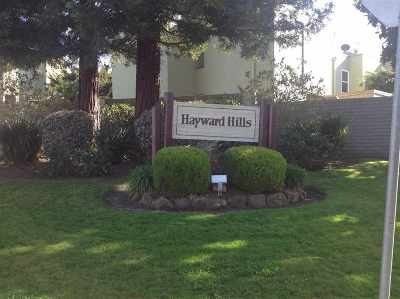 Hayward Condo/Townhouse For Sale: 24255 Dover Lane