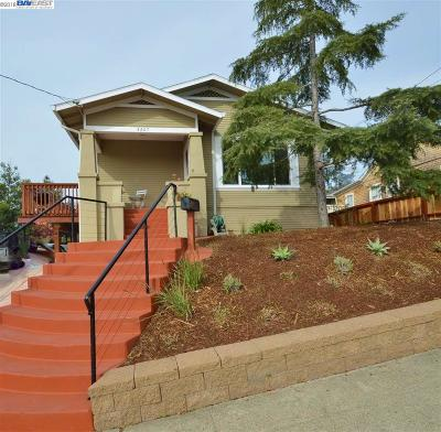 Oakland Single Family Home For Sale: 4207 Lincoln Ave