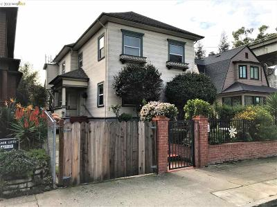 Oakland Single Family Home For Sale: 557 37th St