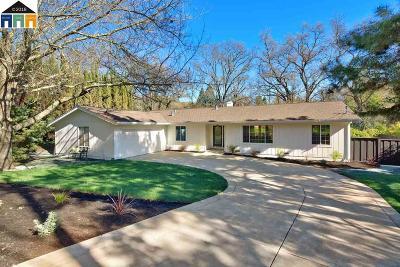 Alamo Single Family Home New: 1886 Green Valley Rd