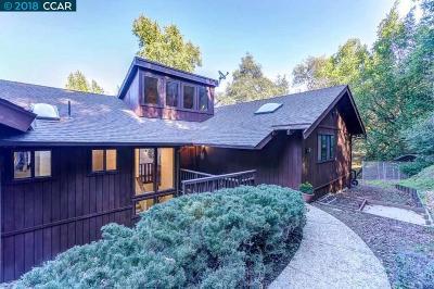 Moraga Single Family Home For Sale: 1084 Bollinger Cyn
