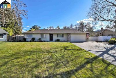 Danville CA Single Family Home New: $1,050,000