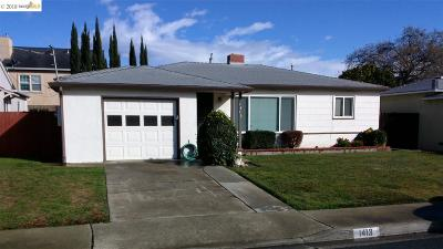 Antioch Single Family Home New-Short Sale