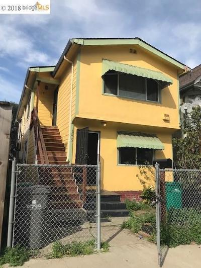 Oakland CA Multi Family Home New: $998,000