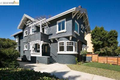 Berkeley CA Condo/Townhouse New: $1,595,000