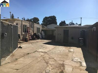 Hayward Multi Family Home Price Change: 1255 Terrace Ave