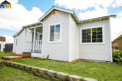 Martinez Single Family Home Price Change: 1372 Chestnut Street