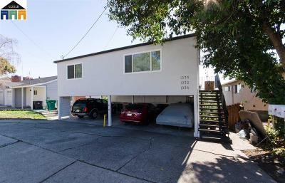 Hayward Multi Family Home For Sale: 1372 Highland Blvd