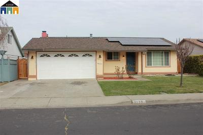 Union City Single Family Home Price Change: 3253 San Pedro Way