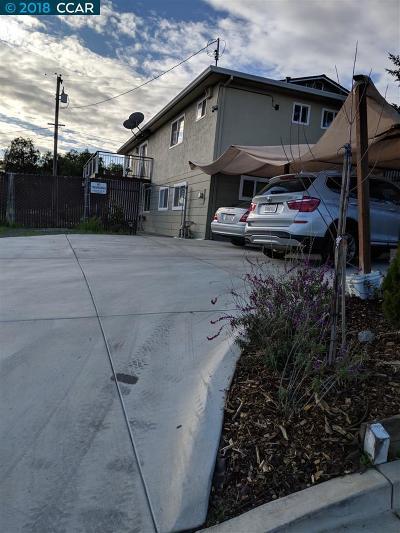 Alameda County, Contra Costa County, San Joaquin County, Stanislaus County Multi Family Home New: 4776 Pacheco Blvd