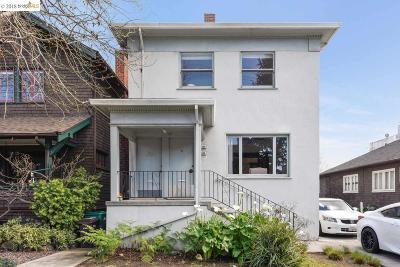 Oakland Condo/Townhouse New: 3856 Howe St
