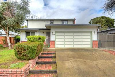 Hayward CA Single Family Home New: $739,000