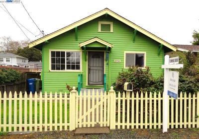 Fremont CA Single Family Home New: $675,000