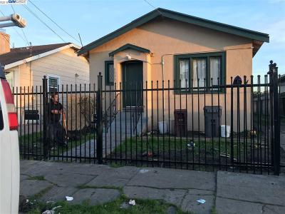 Oakland Single Family Home New: 1086 69th Ave
