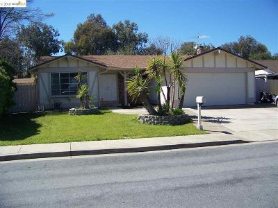 Pittsburg Single Family Home For Sale: 2124 Apricot Ct