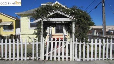 Oakland Single Family Home For Sale: 8540 G Street