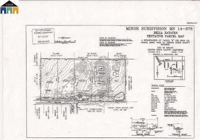 Oakley Residential Lots & Land For Sale: 3801 Daniel