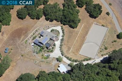 Martinez Single Family Home For Sale: 100 Rancho De Maria