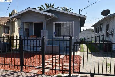 Oakland Single Family Home For Sale: 2740 68th Ave