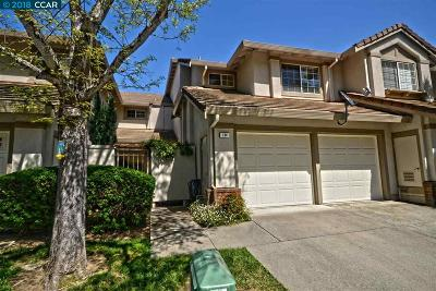Hercules Condo/Townhouse For Sale: 134 Caprice Cir