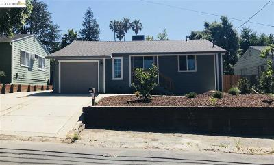 Concord Single Family Home For Sale: 2738 Garden Ave
