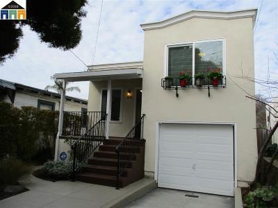 Berkeley Single Family Home Pending Show For Backups: 1331 Carrison
