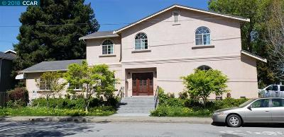 El Cerrito Single Family Home For Sale: 5819 Lassen Street