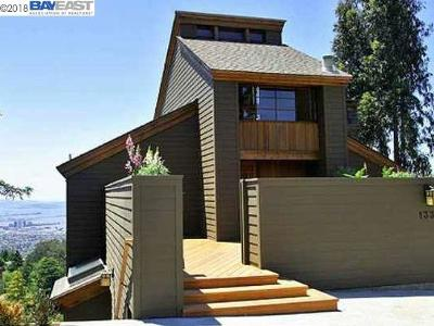 Berkeley Single Family Home For Sale: 1336 Summit Road
