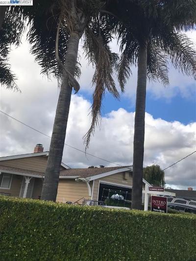 Hayward Single Family Home For Sale: 2279 Sleepy Hollow Ave