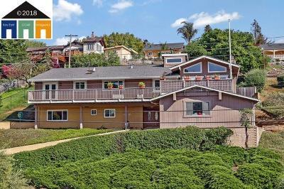 Castro Valley Single Family Home New: 18690 Walnut Rd