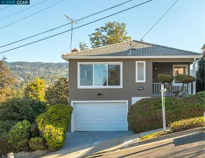 Oakland Single Family Home New: 4600 Meldon Ave