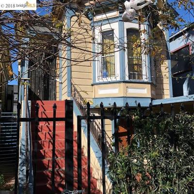 Oakland Single Family Home New: 889 Willow St