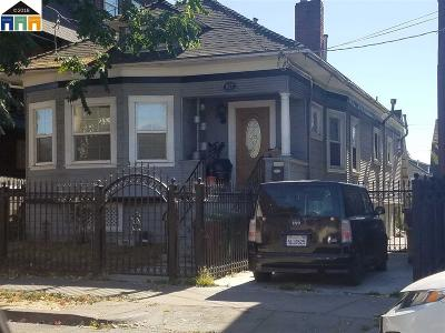Oakland Single Family Home New: 927 34th Street