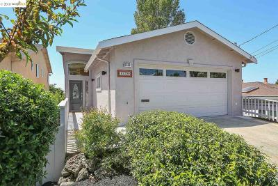 Richmond Single Family Home For Sale: 6538 Claremont Ave