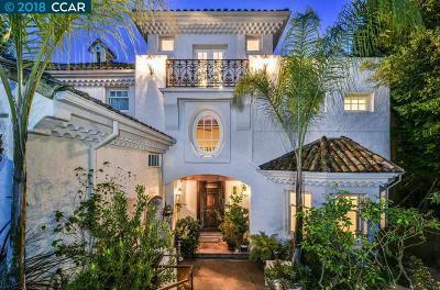 Berkeley Single Family Home For Sale: 210 Alvarado Rd.