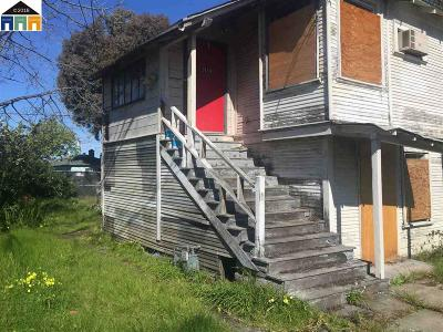 Berkeley Single Family Home For Sale: 1418 Northside Ave.
