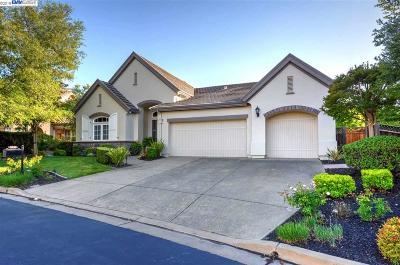 Pleasanton Single Family Home Back On Market: 3521 Valenza Way