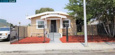 Pittsburg Single Family Home For Sale: 1030 Cutter St