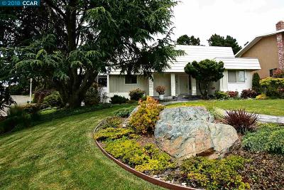 El Cerrito Single Family Home For Sale: 7201 Cutting Blvd