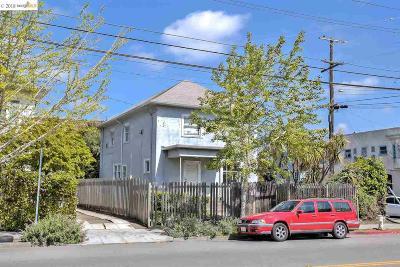 Berkeley Single Family Home For Sale: 3055 Shattuck Ave
