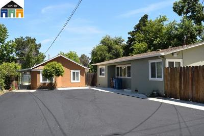 Pleasant Hill Multi Family Home Price Change: 60 W Hookston
