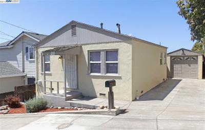 San Leandro Single Family Home For Sale: 1617 167th Ave