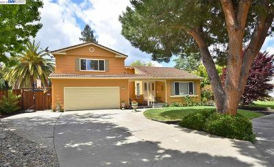 Pleasanton CA Single Family Home Price Change: $1,287,000