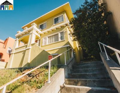 Oakland Single Family Home For Sale: 3220 Park Blvd